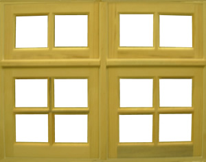 Awning Stacked Window