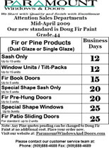 Mid-April Sales Flyer