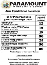 June Sales Flyer